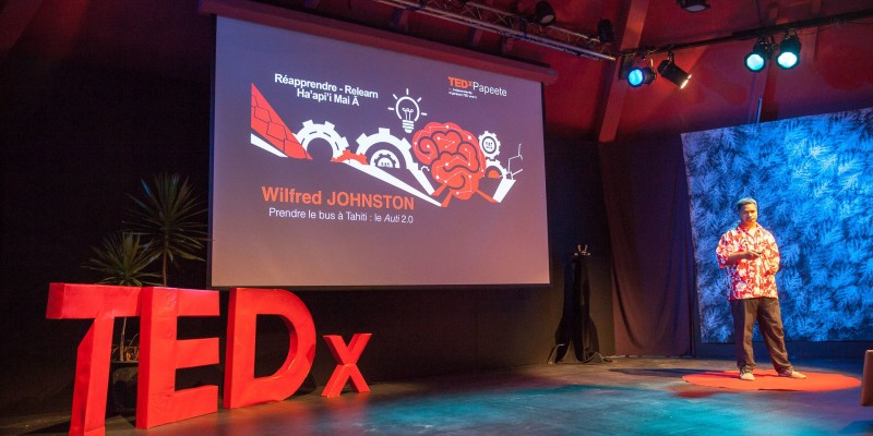 Photo TEDxPPT3-4 Wilfred Johnston