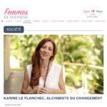 """""""Karine Le Flanchec, Alchimiste du changement"""", un article signé par Femmes de Polynésie"""
