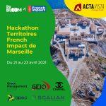 Hackathon Territoires French Impact – Marseille du 21 au 23 avril 2021