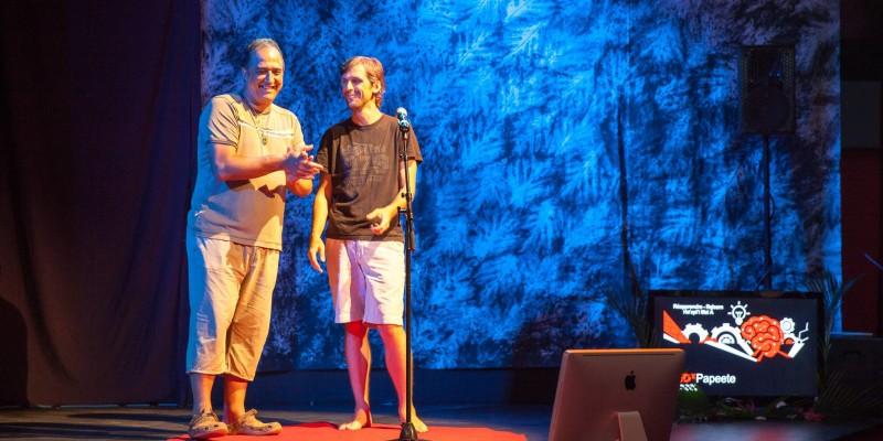 Photo TEDxPPT3-4 BatMike Tambours du fenua